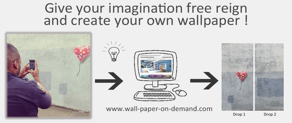 create a WALLPAPER ON DEMAND